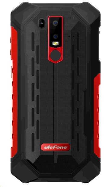 UleFone Armor 6E DS 4+64GB gsm tel. Red