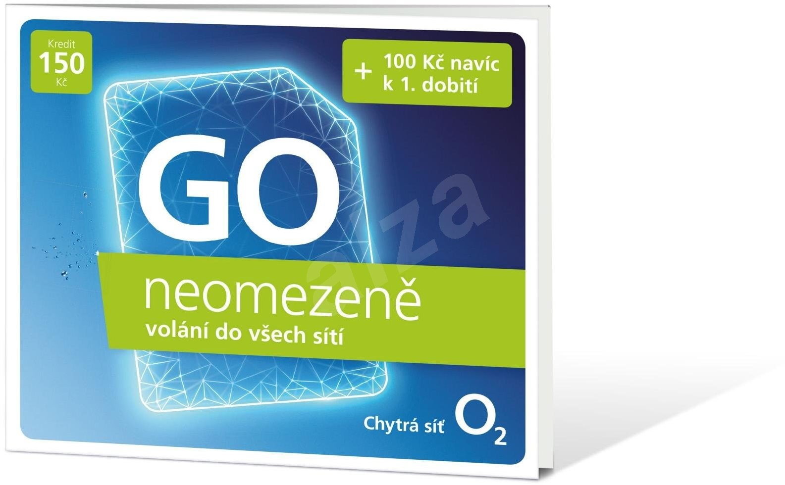 O2 GO SIM KARTA - kredit 150,- Kč Tarif PŘEDPLADENKA