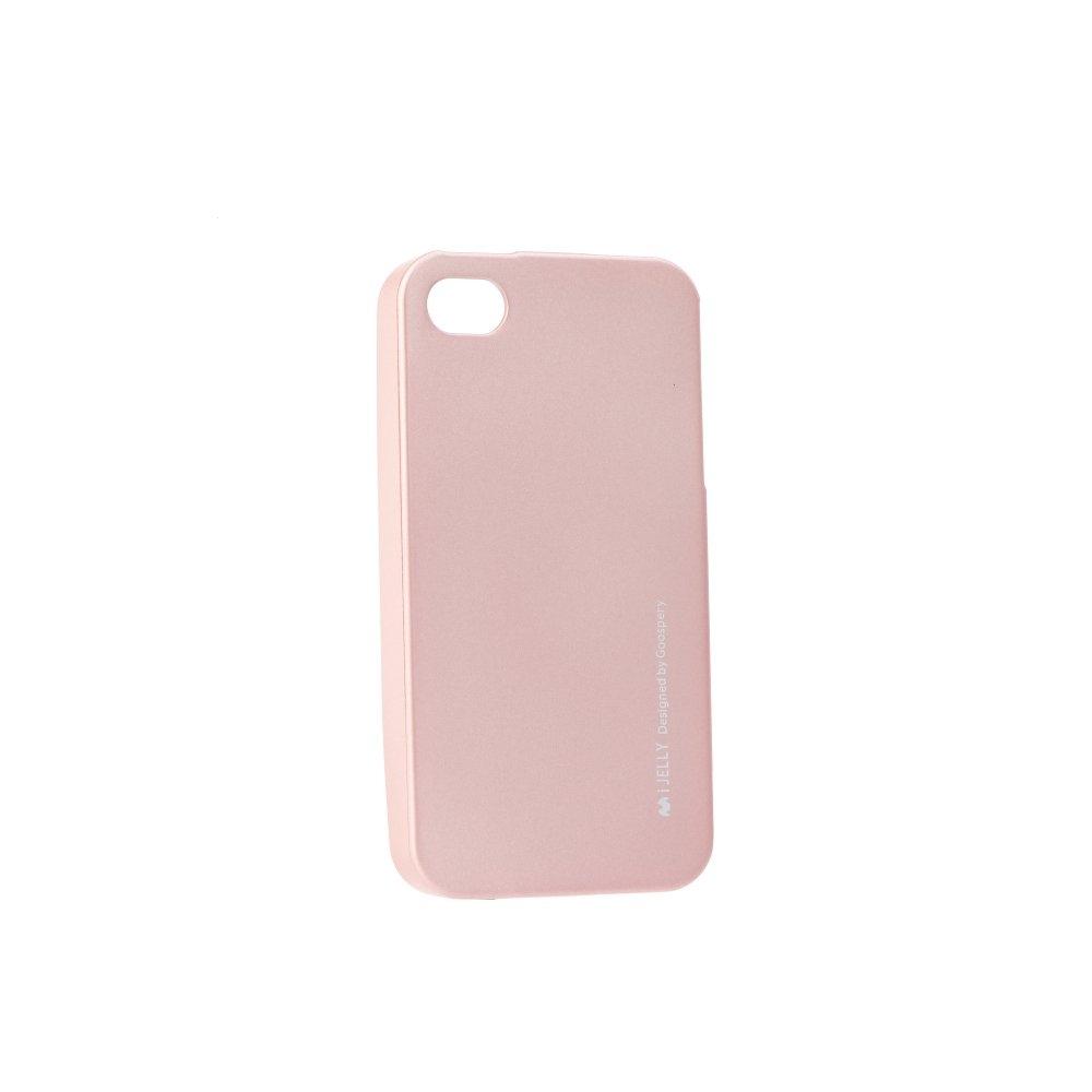 Pouzdro MERCURY i-Jelly Case METAL Xiaomi Redmi NOTE 5A, 5A Prime rose gold