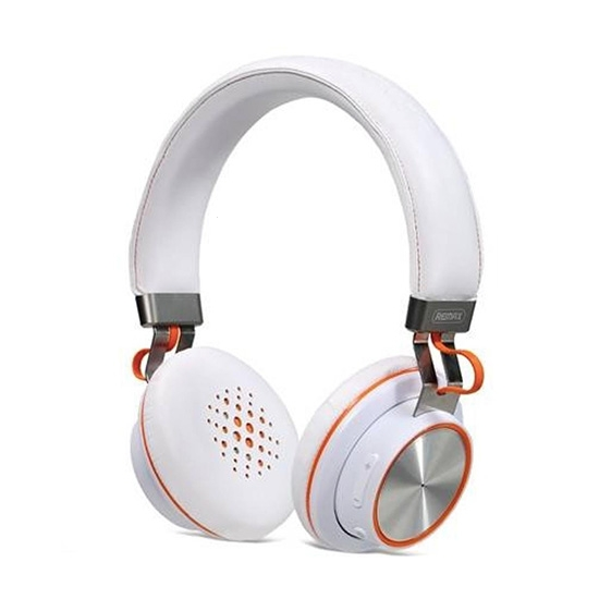 Bluetooth headset REMAX RB-195, barva bílá