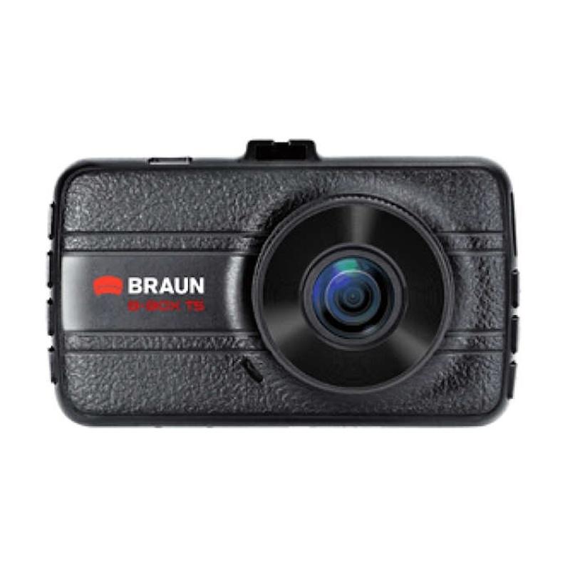 """BRAUN B-BOX T5 kamera do auta (Full HD, kovová, objektiv Ultralit 120°, 3""""LCD, G-sensor, Loop)"""