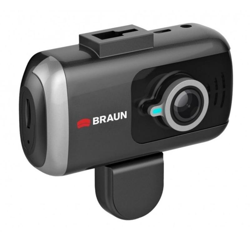 """BRAUN B-BOX T7 kamera do auta/taxi (Full HD, dva HD objektivy Wide 170°/120°, 3""""LCD, G-sensor, GPS)"""