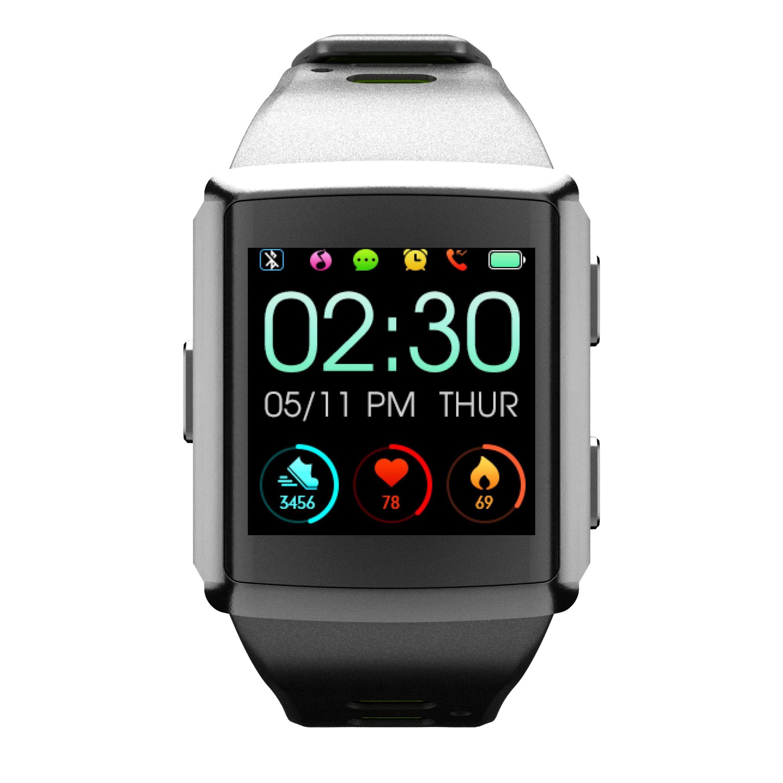Bluetooth chytré hodinky Cellularline Easysport GPS, snímač srdečního tepu + GPS senzor, černé