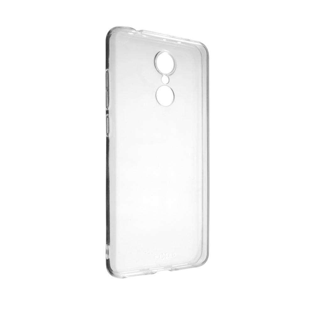 Ultratenké TPU gelové pouzdro FIXED Skin pro Xiaomi Redmi 5 Global, 0,6 mm, čiré