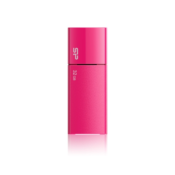 USB flash disk Silicon Power Ultima U05, 32GB, USB 2.0, růžový
