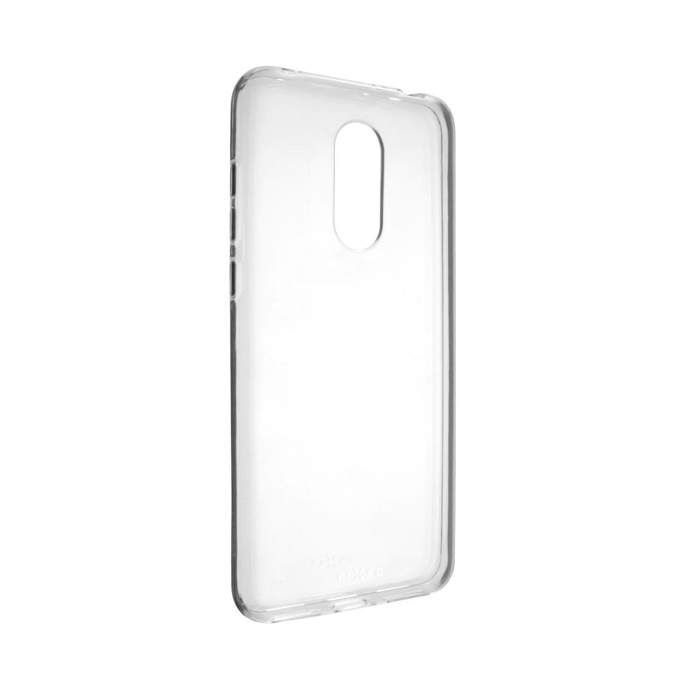 TPU gelové pouzdro FIXED pro Xiaomi Redmi 5 Plus Global, čiré