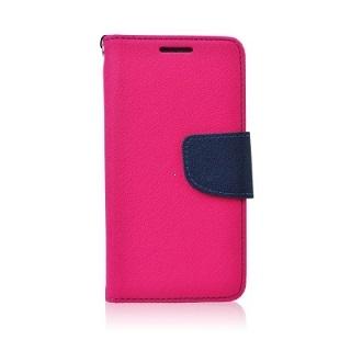 Pouzdro FANCY Diary TelOne Nokia / Microsoft 540 Lumia barva růžová/modrá