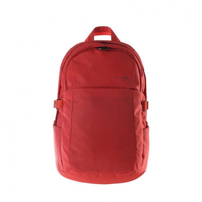 """Hi-tech batoh Tucano BRAVO, určený pro MacBook, ultrabooky a notebooky do 15.6"""", červený"""