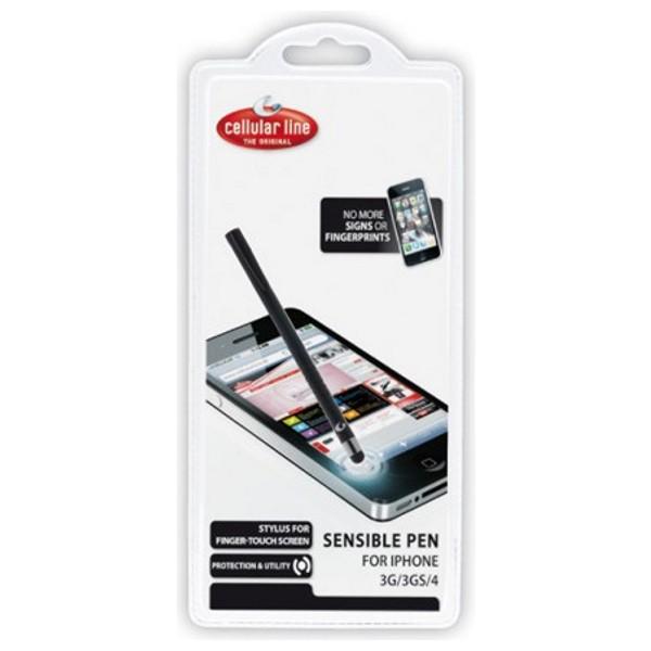 Sensible pen CellularLine pro dotykové kapacitní displeje, černý