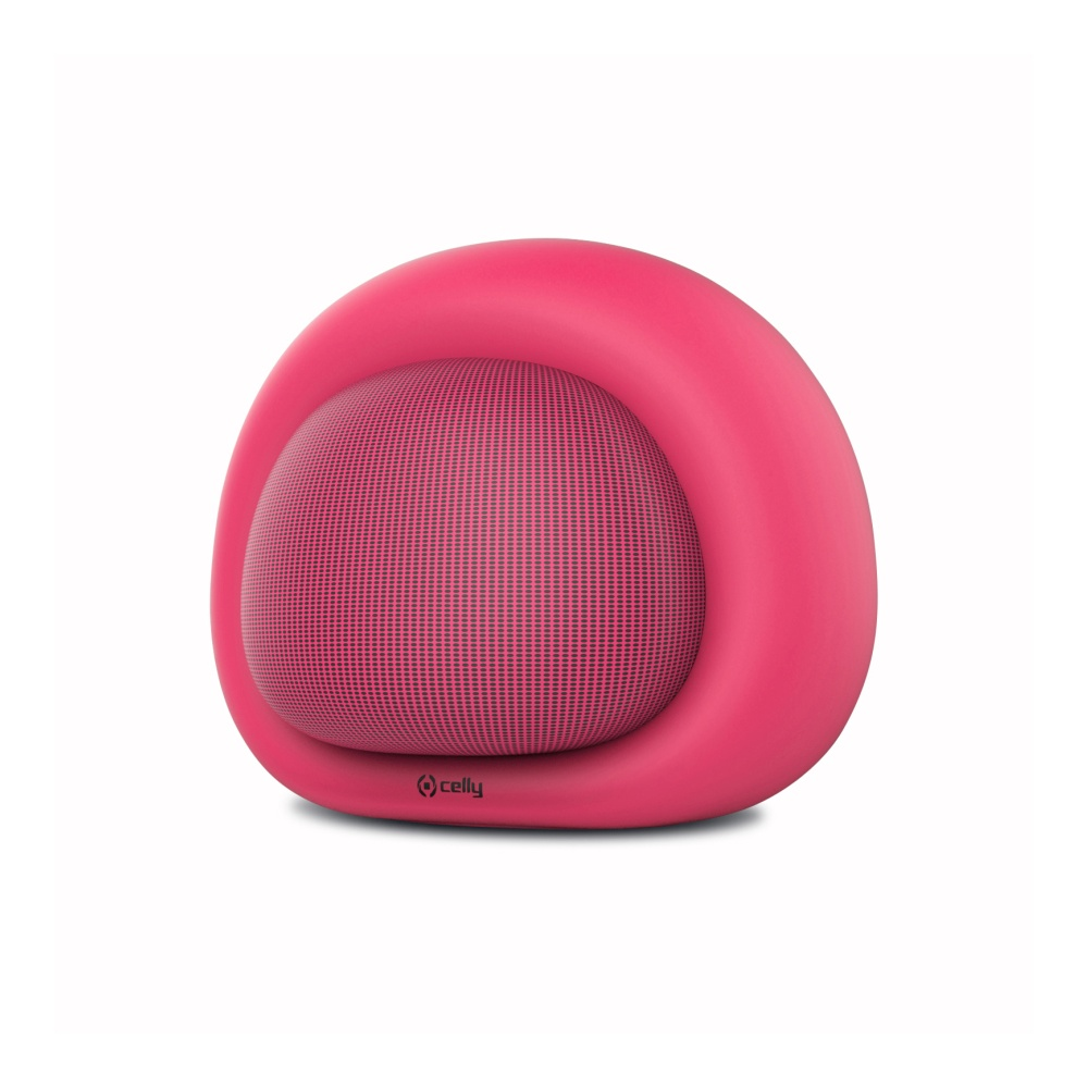 Bluetooth reproduktor CELLY Bubble Beat, růžový