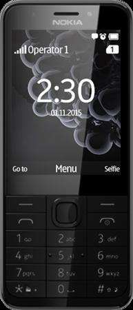 Nokia 230 SS gsm tel. Dark Silver