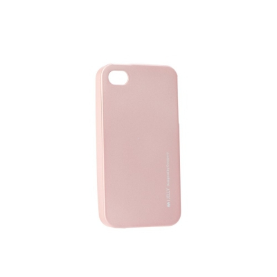 Pouzdro MERCURY i-Jelly Case METAL Xiaomi Redmi NOTE 4 / 4X rose gold