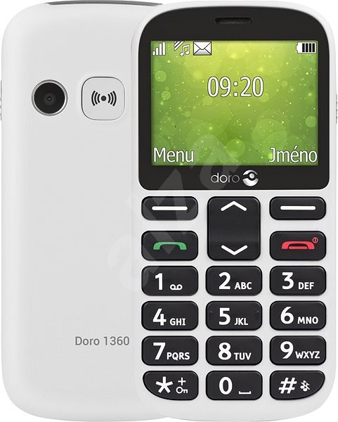 Doro 1360 DualSIM gsm tel. White