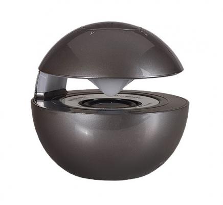 Mini reproduktor BlueTooth LED BALL barva šedá