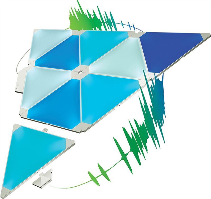 Nanoleaf Light Panels Rhythm Smarter Kit 9 Pack
