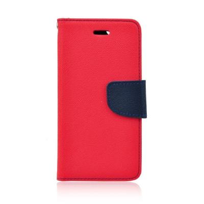 Pouzdro FANCY Diary TelOne Nokia / Microsoft 540 Lumia barva červená/modrá
