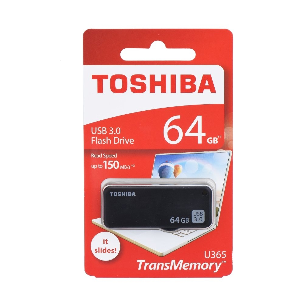 USB Flash Disk (PenDrive) TOSHIBA U365 64GB USB 3.0 150MB/s