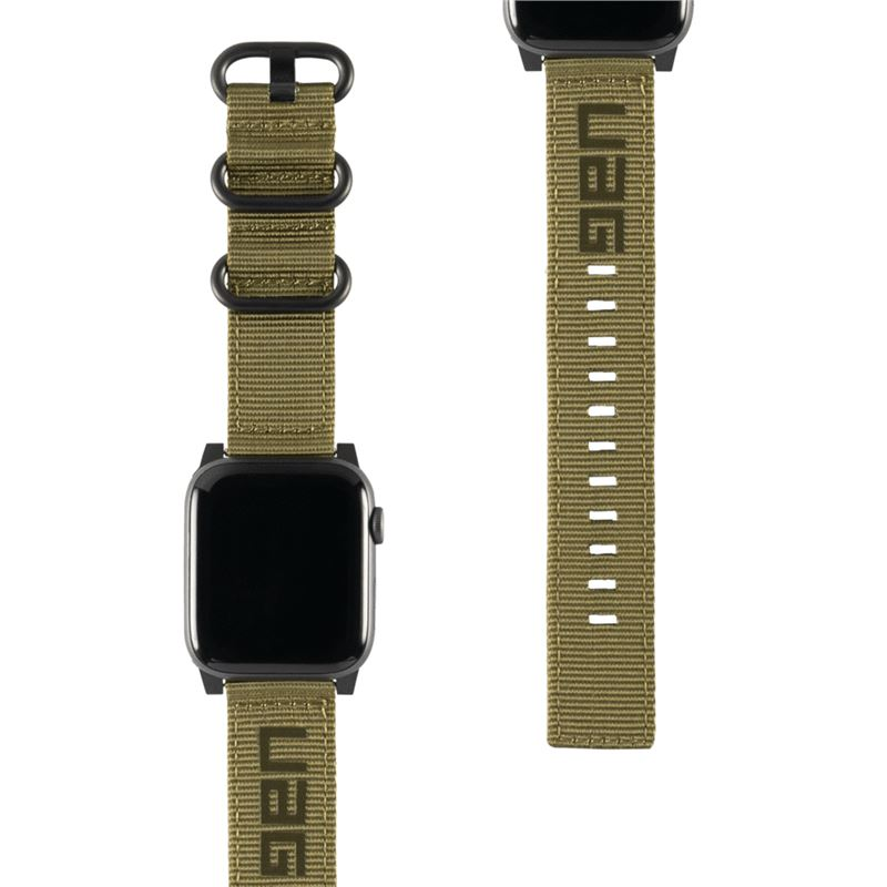 UAG Nato Strap, olive - Watch 44/42 mm