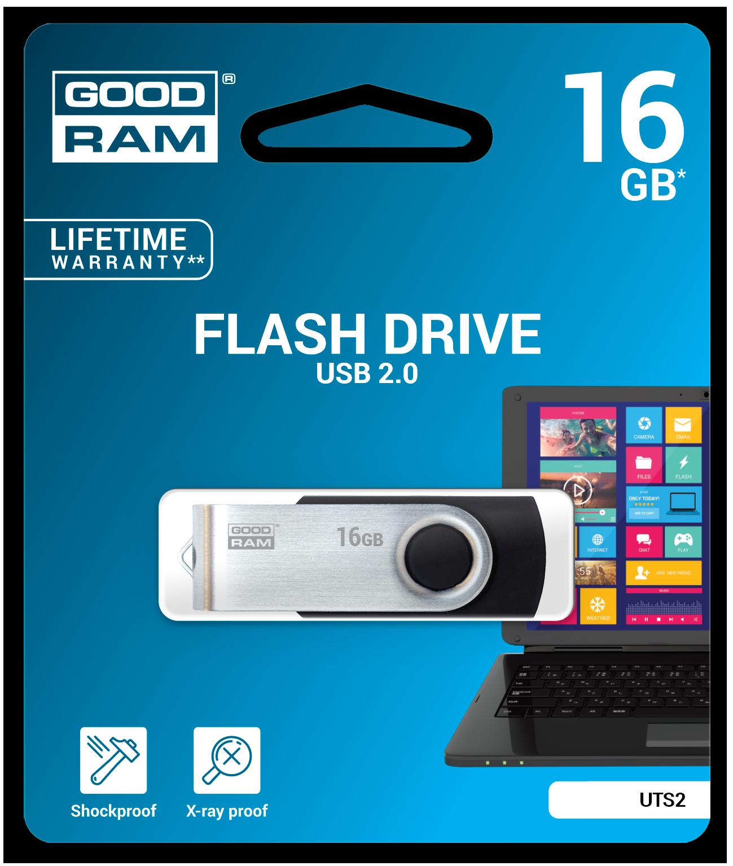 GOODRAM TWISTER USB 3.0 FLASH DISK 64GB - UTS3-0640K0R11