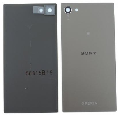 Kryt baterie Sony Xperia Z5 mini/compact E5823 + lepítka černá