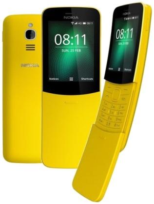 Nokia 8110 DS Yellow 4G (dualSIM) 2018