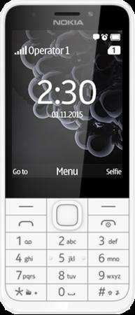 Nokia 230 SS gsm tel. White Silver