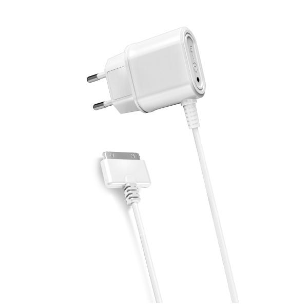 Cestovní nabíječka CELLY s konektorem Apple 30-pin, 1A, blister