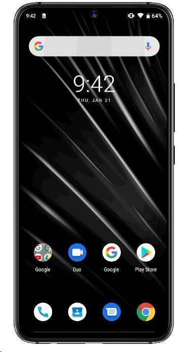 UMIDIGI S3 PRO DualSIM 6+128GB gsm tel. Ceramic Black