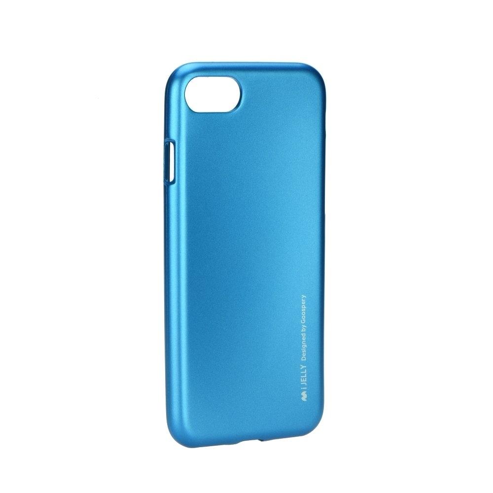 Pouzdro MERCURY i-Jelly Case METAL Xiaomi Mi 8 modrá