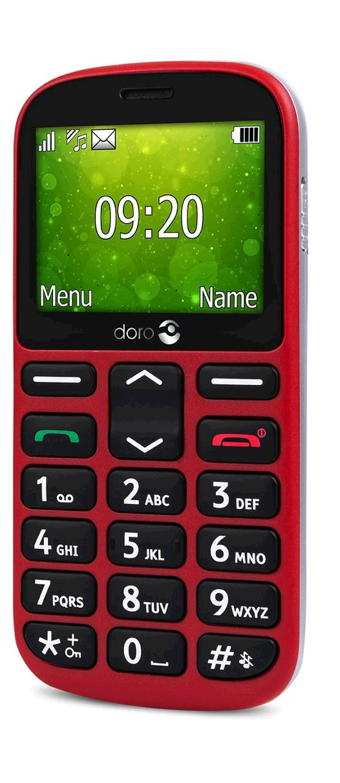 Doro 1360 DualSIM gsm tel. Red