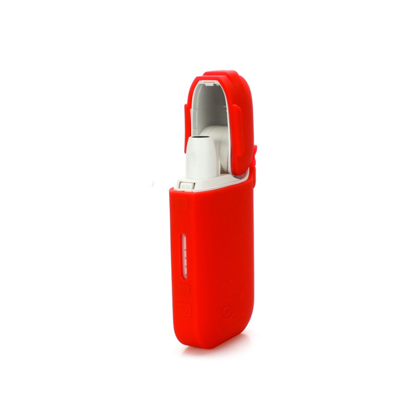 Silikonové pouzdro CELLY na elektronické cigarety IQOS, červené
