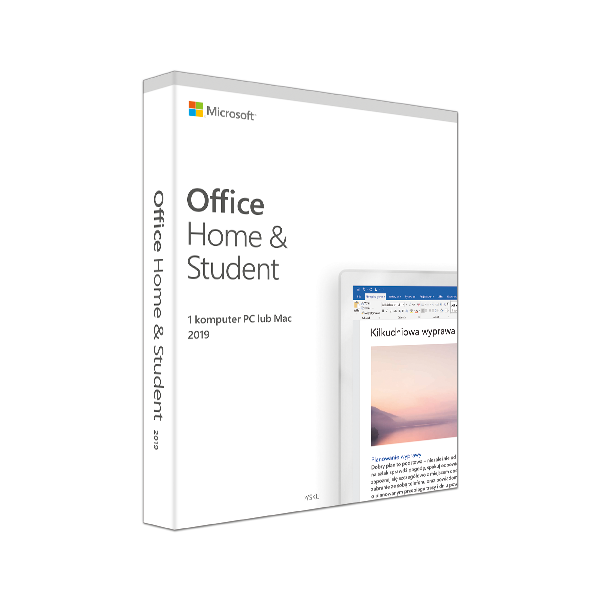 Office Home and Student 2019 Polish