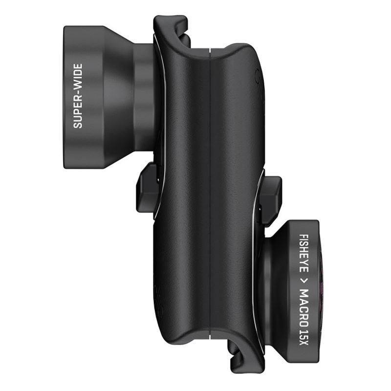 olloclip core lens+2 cases, black-iPhone 8/8+/7/7+