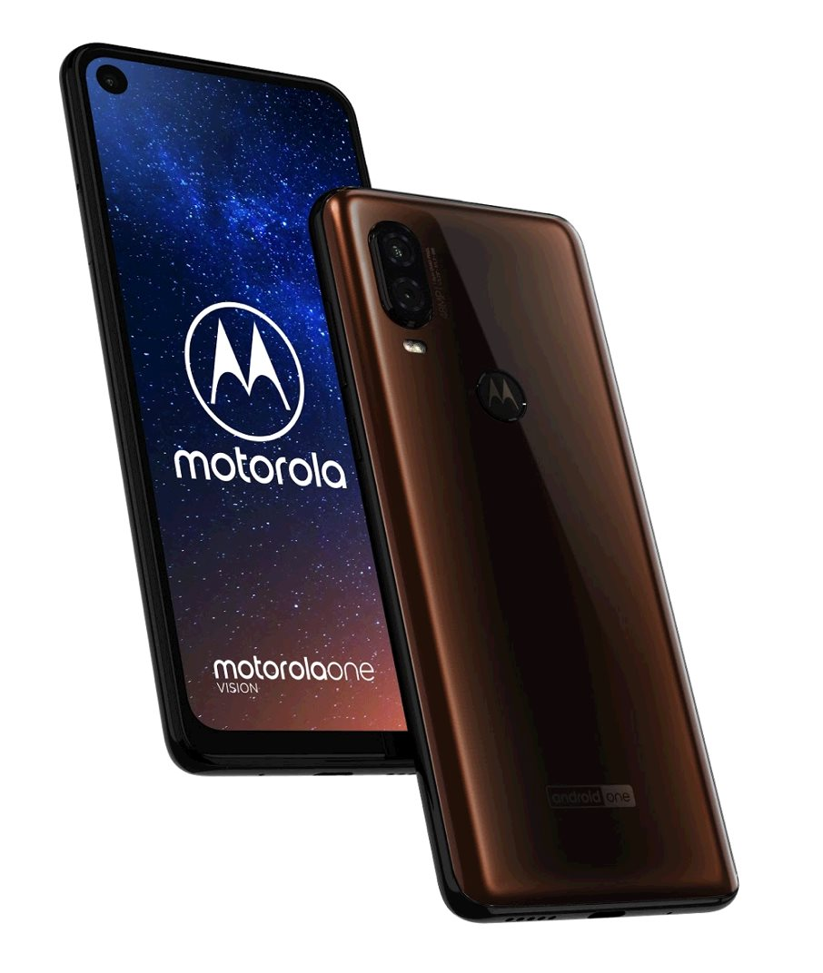Motorola Moto One Vision 48Mpx OIS gsm tel. Bronze Gradient