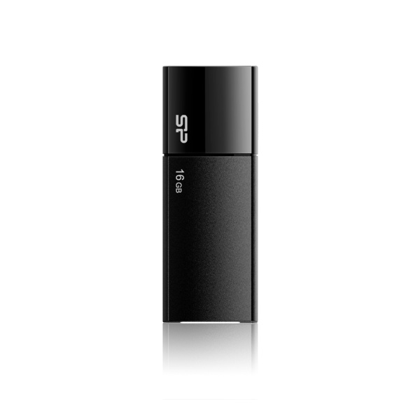 USB flash disk Silicon Power Ultima U05, 16GB, USB 2.0, černý