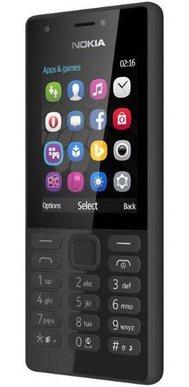 Nokia 216 DS gsm tel. Black