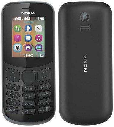 Nokia 130 DS Black (dualSIM) 2017