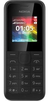 Nokia 105 2017 DS gsm tel. Black