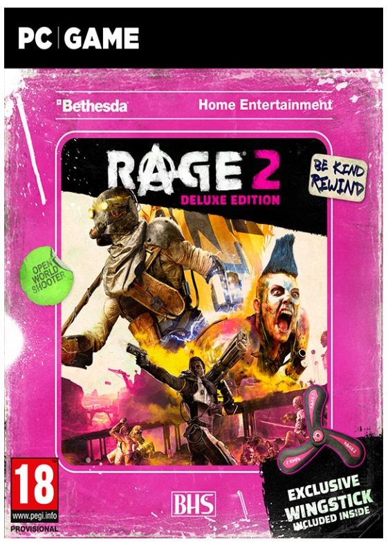 PC - Rage 2 Wingstick Deluxe Edition