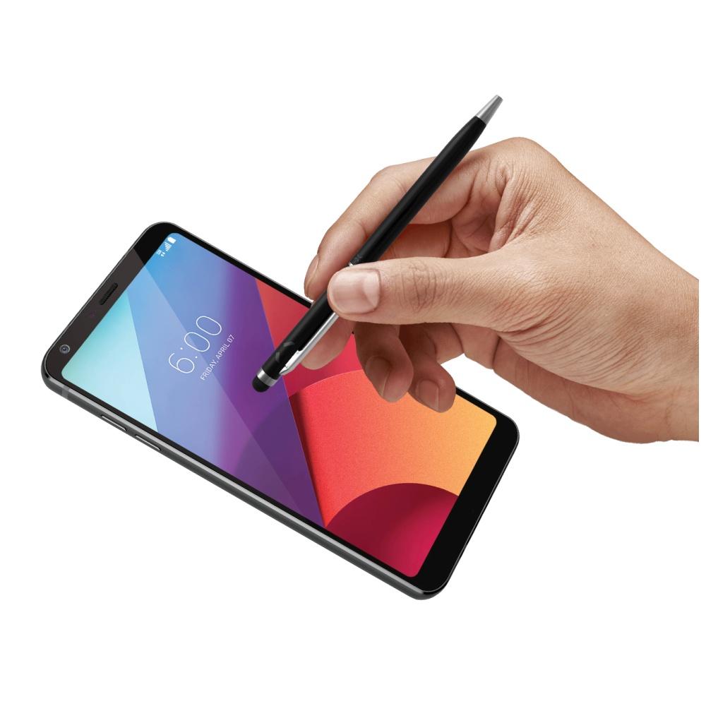 Psací pero 2v1 se stylusem pro dotykové displeje FIXED Pen2, černé