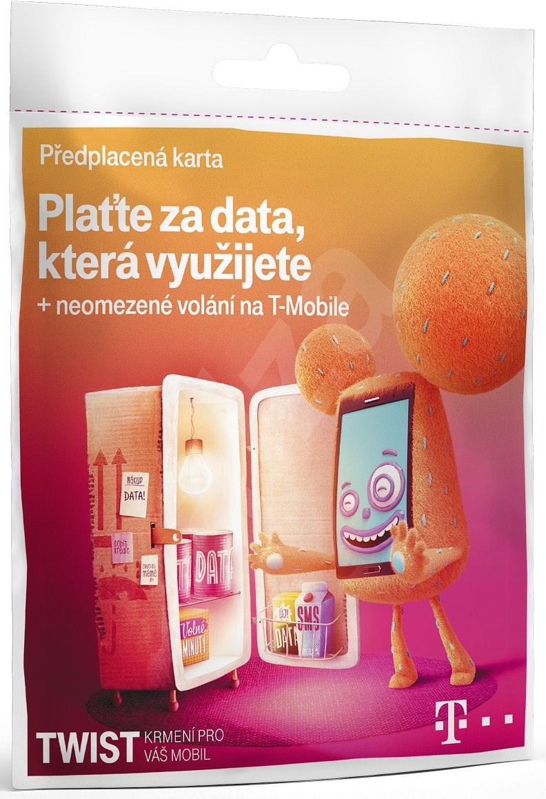 PŘEDPLACENÁ T- MOBILE TWIST SIM KARTA - DATA NA DEN
