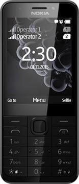 Nokia 230 DS gsm tel. Dark Silver