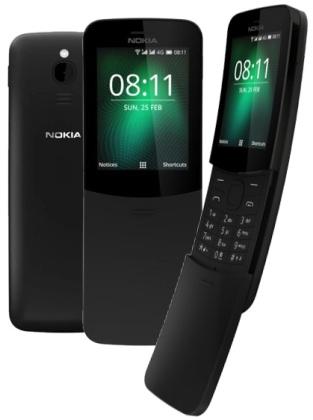 Nokia 8110 DS Black 4G (dualSIM) 2018
